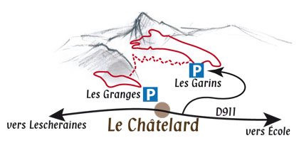 Carte des circuits